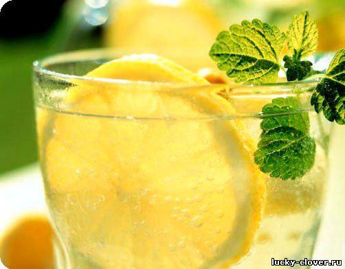 Напиток с мятой и лимоном рецепт с